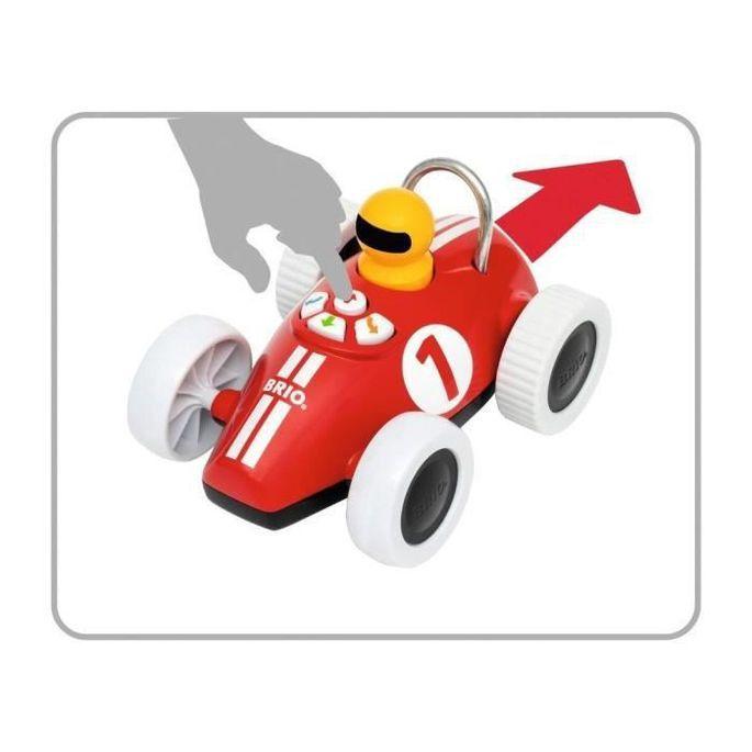 Brio Voiture de course Play & Learn - Boutons directionnels - Jouet d'éveil Premier âge - Ravensburger - Des 18 mois - 30234 - Photo n°4