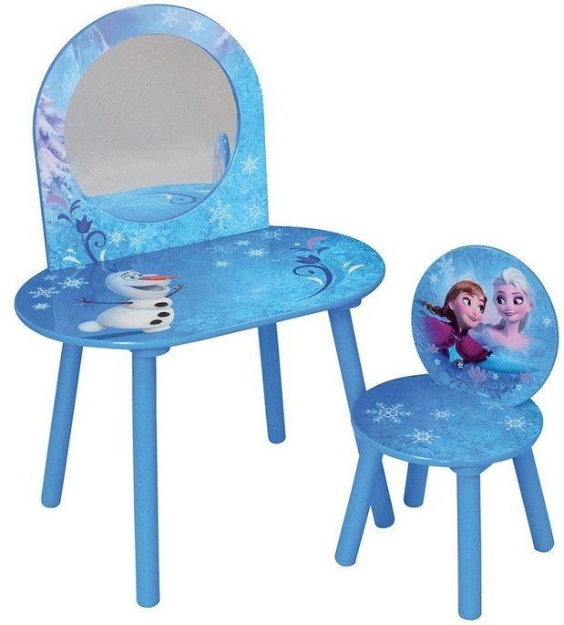 Chaise de rangement avec chaise Reine des neiges Disney - Photo n°1
