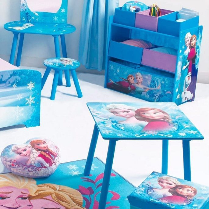 Chaise de rangement avec chaise Reine des neiges Disney - Photo n°3