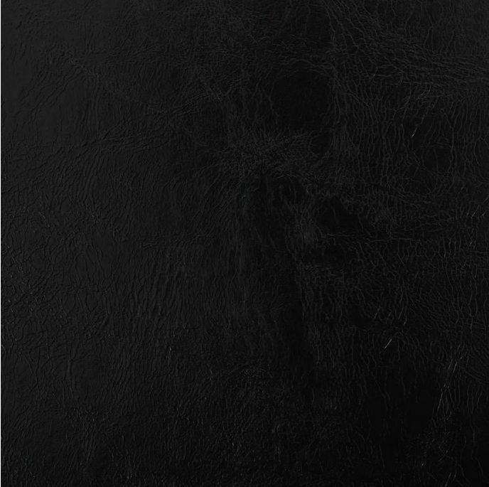 Chaise simili cuir noir et pieds métal noir Sary - Lot de 4 - Photo n°4