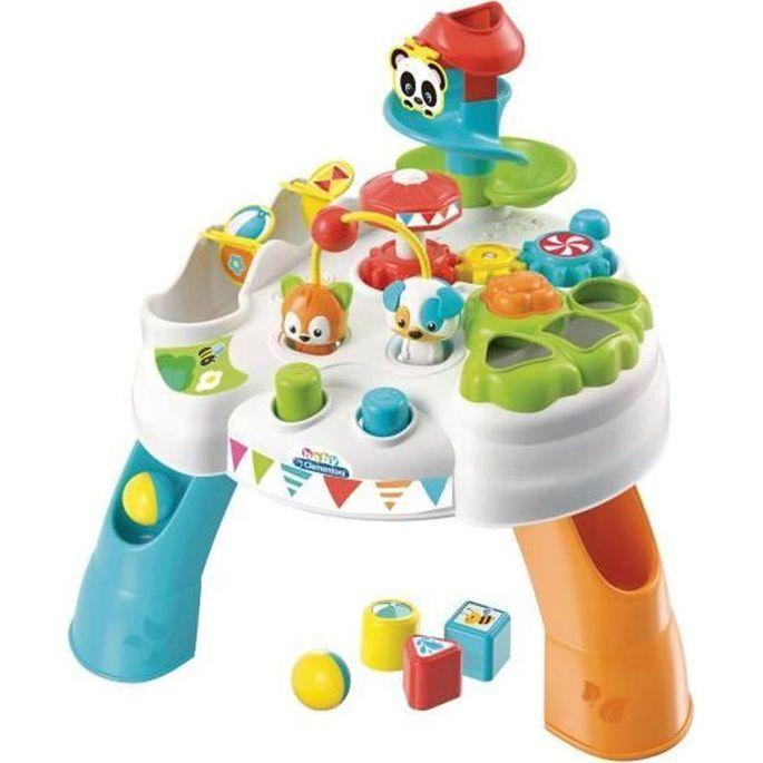 CLEMENTONI Baby - La table d'activités enchantée - Jeu d'évei - Photo n°1