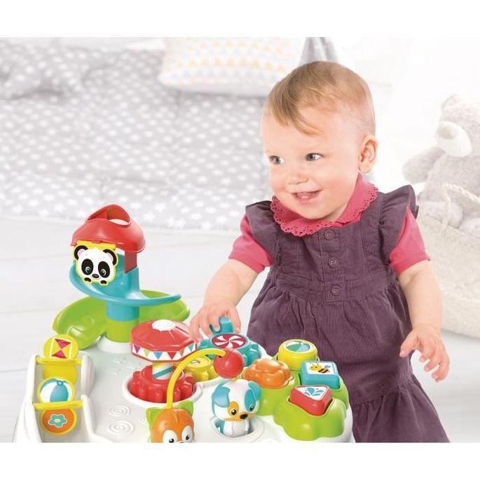 CLEMENTONI Baby - La table d'activités enchantée - Jeu d'évei - Photo n°2