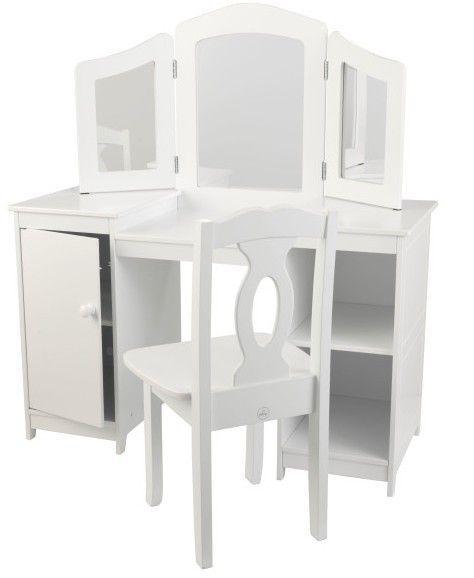 Coiffeuse et chaise de luxe Kidkraft 13018 - Photo n°2