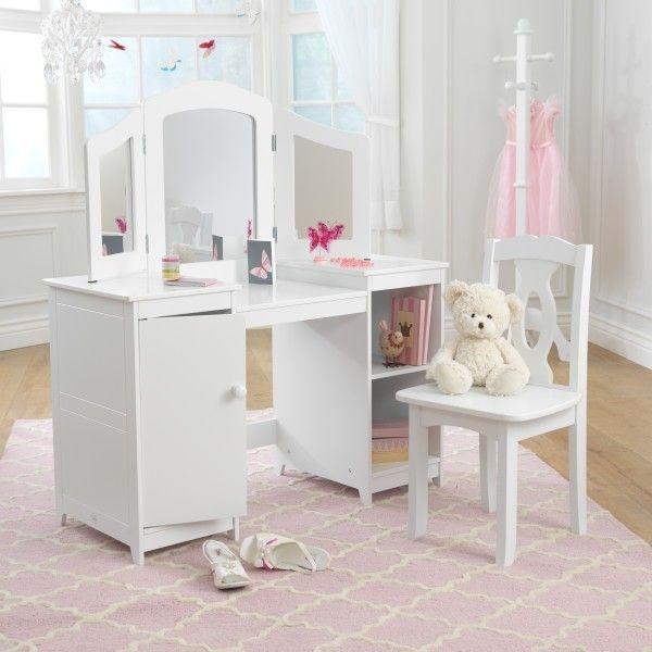 Coiffeuse et chaise de luxe Kidkraft 13018 - Photo n°3