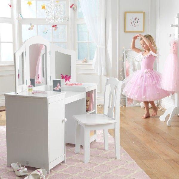 Coiffeuse et chaise de luxe Kidkraft 13018 - Photo n°4