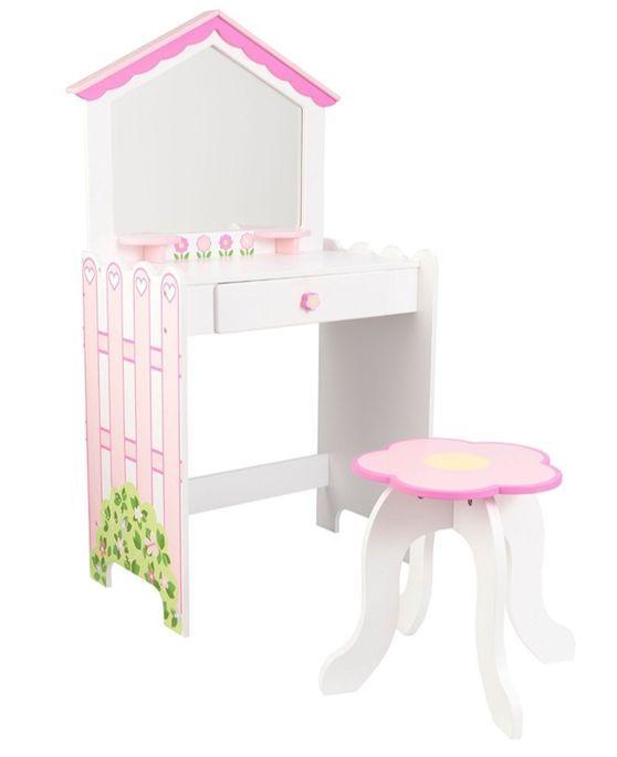 Coiffeuse et tabouret maison de poupées KidKraft 13035 - Photo n°1