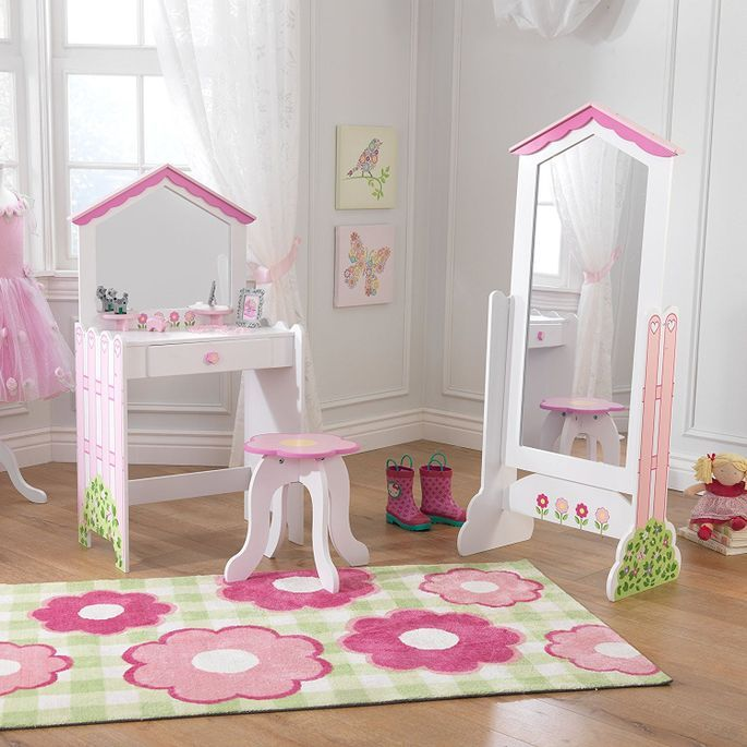 Coiffeuse et tabouret maison de poupées KidKraft 13035 - Photo n°2