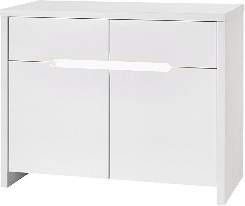 Commode à langer 2 tiroirs blanc Poppy White - Photo n°2