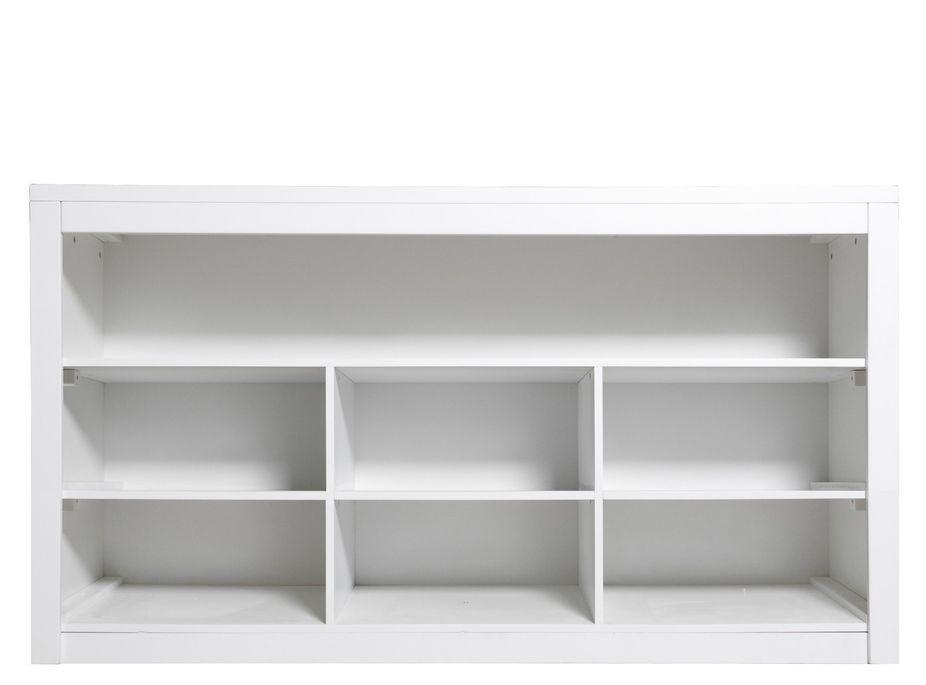 Commode moderne enfant 7 compartiments bois blanc Mix & Match - Photo n°2