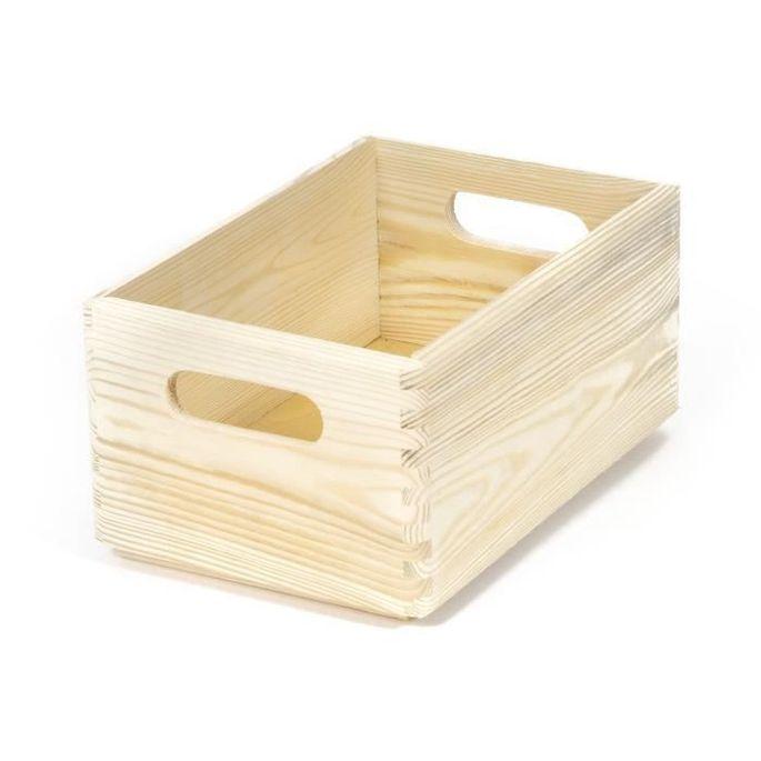 COMPACTOR Boîte en bois Taille S - Photo n°1
