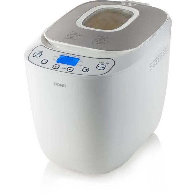 DOMO B3963 Machine a pain automatique - 550 W - Pains de 700 ou 1000 g - 12 programmes - Blanc - Photo n°4