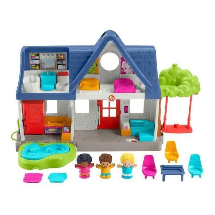 Fisher-Price - Maison Little People, coffret avec contenu d'Éveil Progressif - Jouet d'éveil 1er âge - Des 12 mois - Photo n°2