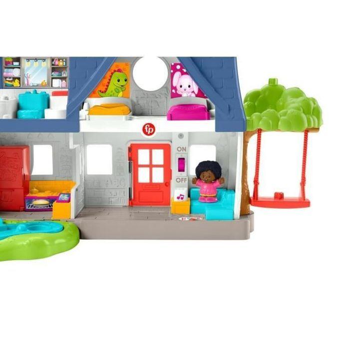 Fisher-Price - Maison Little People, coffret avec contenu d'Éveil Progressif - Jouet d'éveil 1er âge - Des 12 mois - Photo n°4