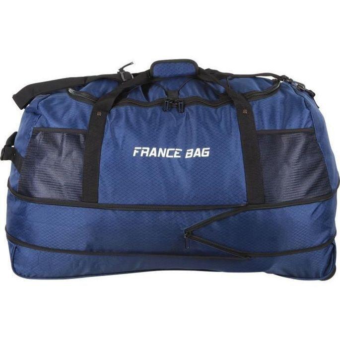 FRANCE BAG Sac de Voyage Pliable XXL Polyester 81cm Bleu Marine - Photo n°1