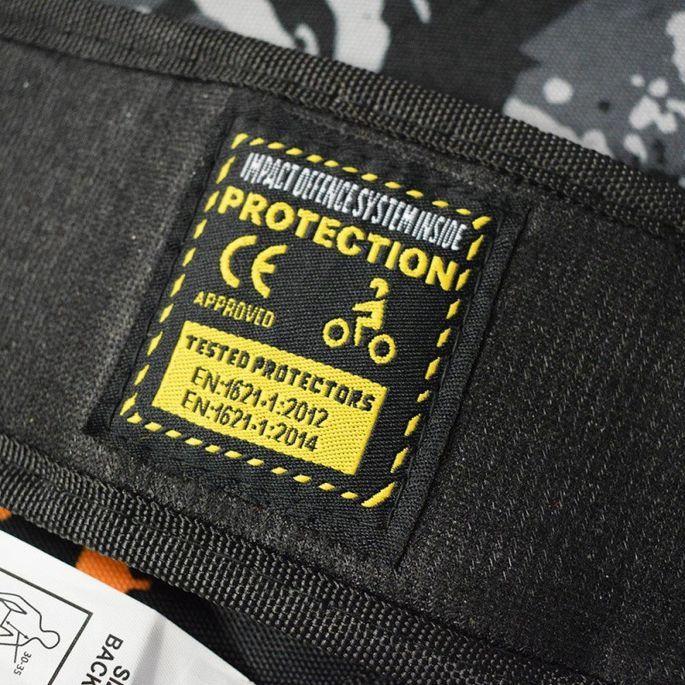 Gilet de protection enfant pour moto et quad vert Xtm factory - Photo n°4
