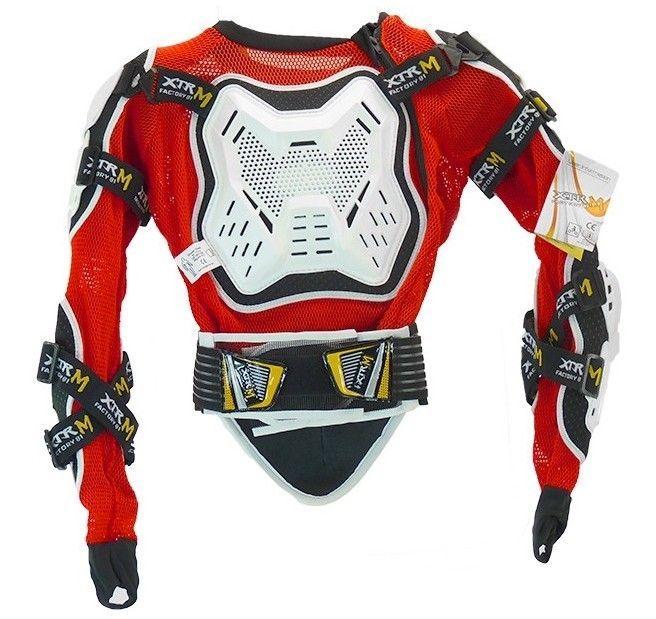 Gilet de protection rigide enfant pour moto et quad XTRM - Photo n°1