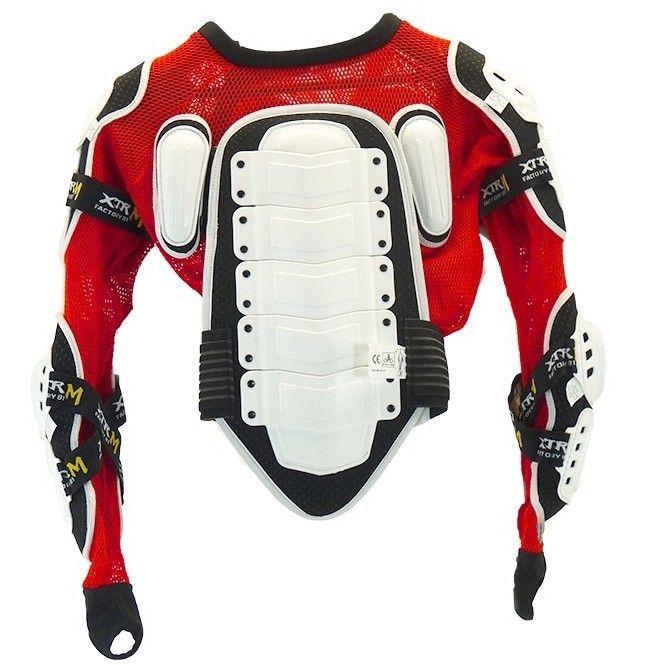 Gilet de protection rigide enfant pour moto et quad XTRM - Photo n°3