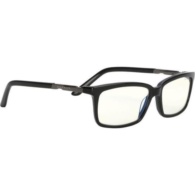 Gunnar - Haus Onyx Clear - Lunettes pour écrans - Monture noire et verres transparents - filtrent 35% - Photo n°1