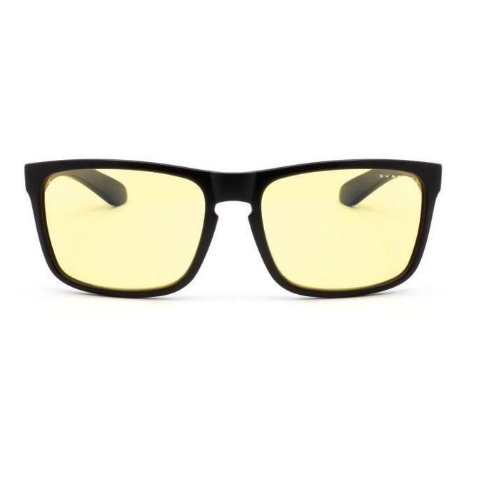 Gunnar - Intercept Onyx - Lunettes anti lumiere bleue - Monture noire et verres ambrés - filtrent 65% + réduction fatigue visuelle - Photo n°3