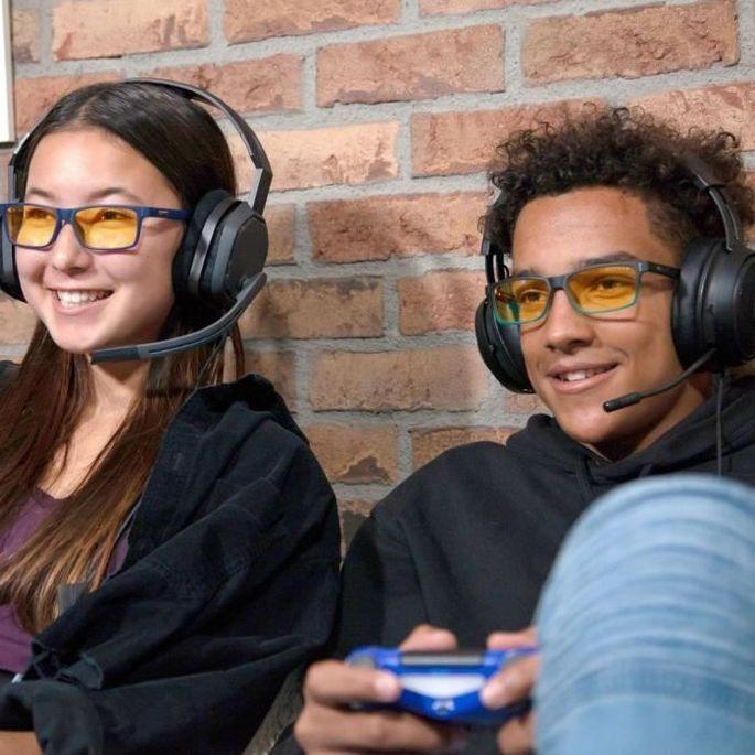 GUNNAR OPTIKS Lunettes Cruz - Noir et bleu - Pour jeunes adolescents de 12 a 18 ans - Photo n°5