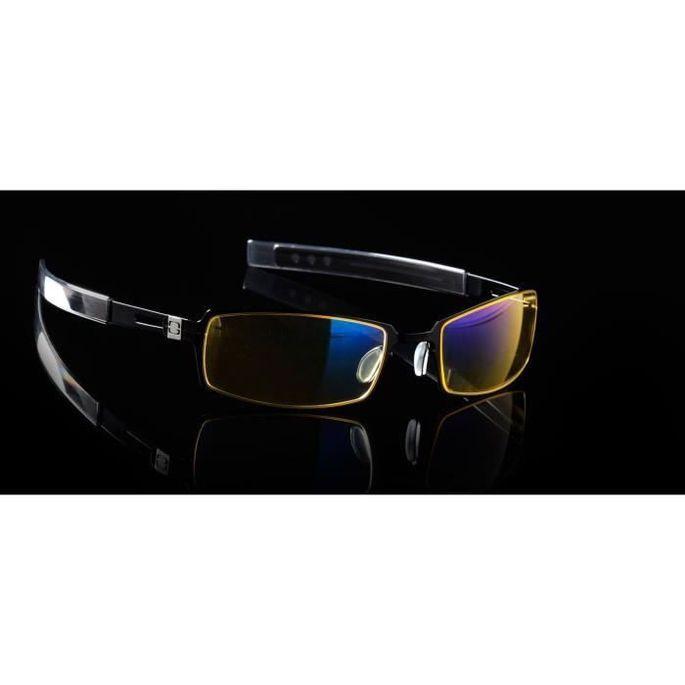 Gunnar - PPK Onyx Lunettes anti lumiere bleue - Monture noire souple et verres ambrés - filtrent 65% - Photo n°6