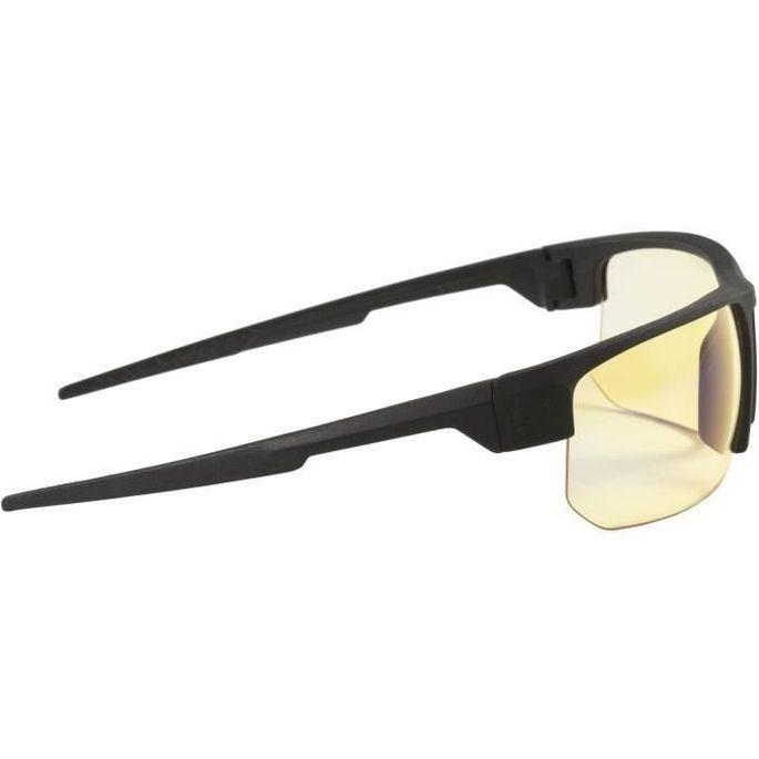 Gunnar - Torpedo Onyx - Lunettes prog gamer - Monture noire adapté au casque grand champ visuel et verres ambrés - filtrent 65% - Photo n°2