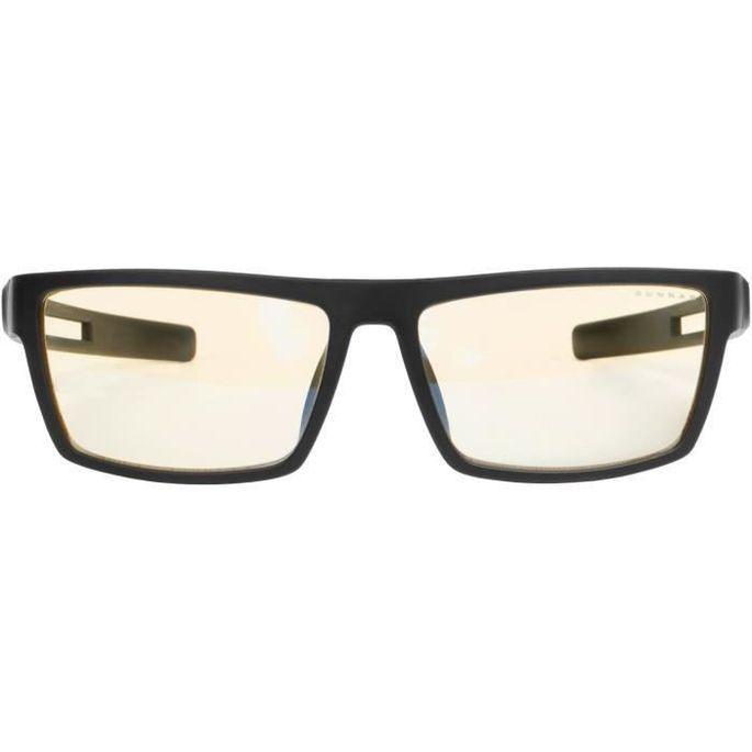 Gunnar - Valve Onyx - Lunettes gaming - Monture noire souple et légere et verres ambrés - filtrent 65% + réduction fatigue visuelle - Photo n°3