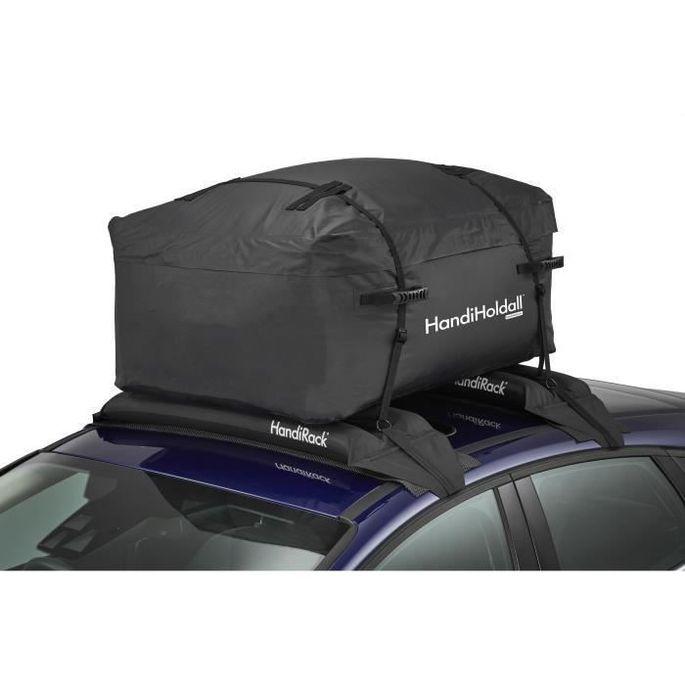 HANDIWORLD HandiHoldall 400 Litres - Coffre de toit souple - Pliable - Etanche - Noir - Photo n°1