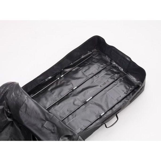 HANDIWORLD HandiHoldall 400 Litres - Coffre de toit souple - Pliable - Etanche - Noir - Photo n°4