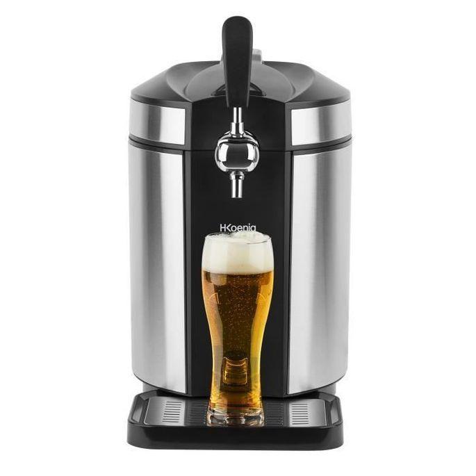 HKoeNIG Tireuse a biere – Pour tous les fûts de 5L – Noir/Inox - BW1880 - Photo n°2
