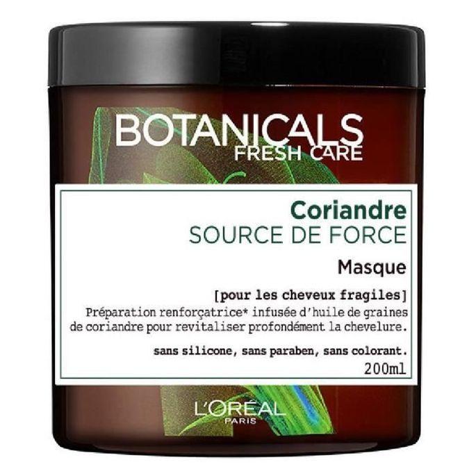 L'OREAL PARIS Botanicals Masque Soin Cure de Force - Pour cheveux abîmés - 200 ml - Photo n°1