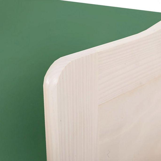 Lit banquette avec tiroir lit pin massif blanc Theo 90x190 cm - Photo n°5