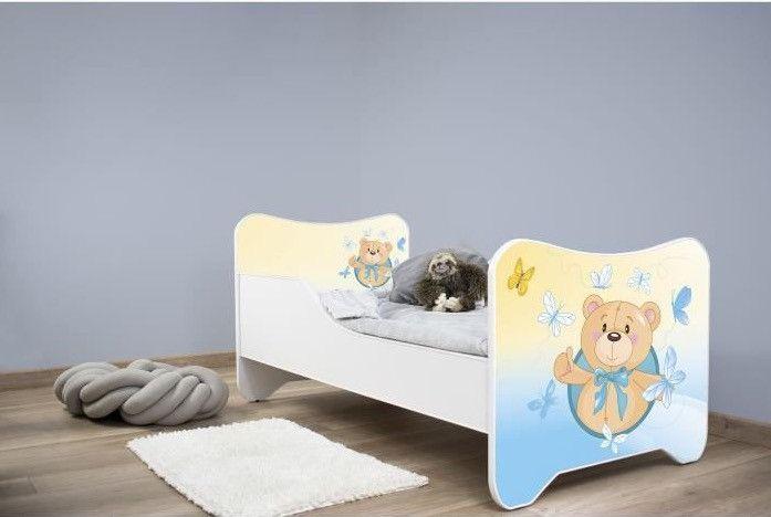 Lit enfant avec matelas Ourson 70x140 cm - Photo n°4