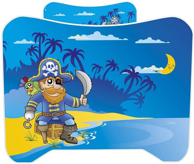 Lit enfant avec matelas Pirate 70x140 cm - Photo n°6