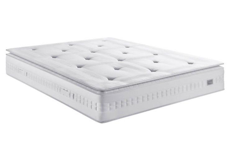 Lit escamotable 150x190 cm avec canapé coffre tissu Espacia - Photo n°7