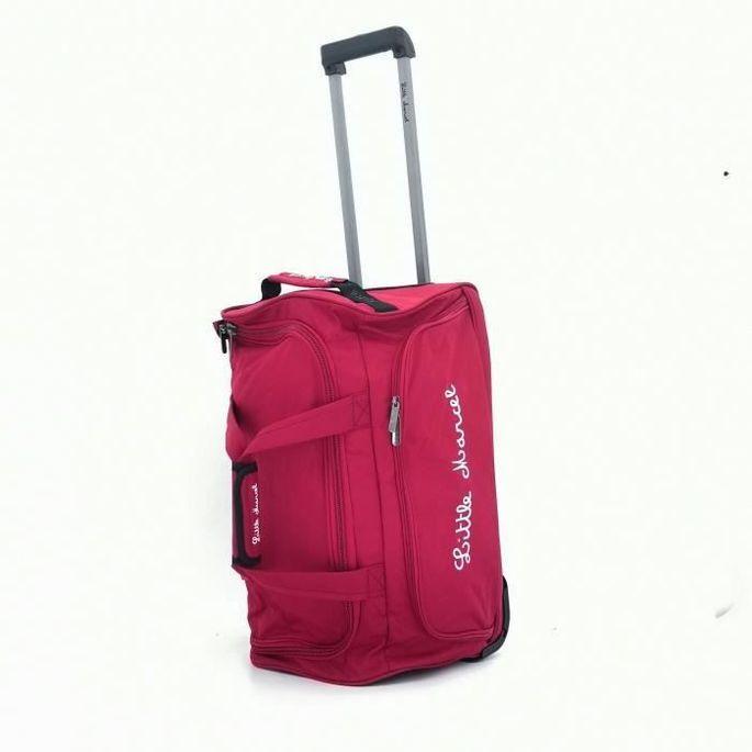 LITTLE MARCEL Sac de Voyage a Roulettes 8861 Cabine - 52 x 29 x 28,5 cm - Rouge - Photo n°3