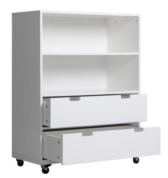 Meuble de rangement enfant 2 étagères 2 tiroirs Mixu - Photo n°2