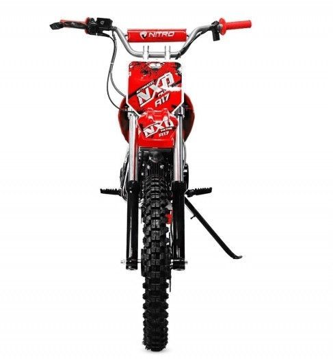 Moto cross 125cc automatique 17/14 rouge Sprinter - Photo n°4