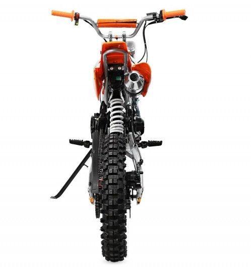 Moto cross 125cc automatique 17/14 rouge Sprinter - Photo n°5