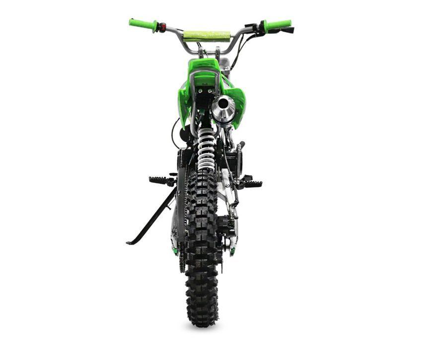 Moto cross 125cc automatique 17/14 vert Sprinter - Photo n°5