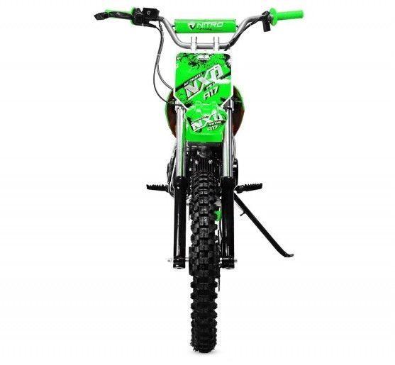 Moto cross 125cc automatique 17/14 vert Sprinter - Photo n°4