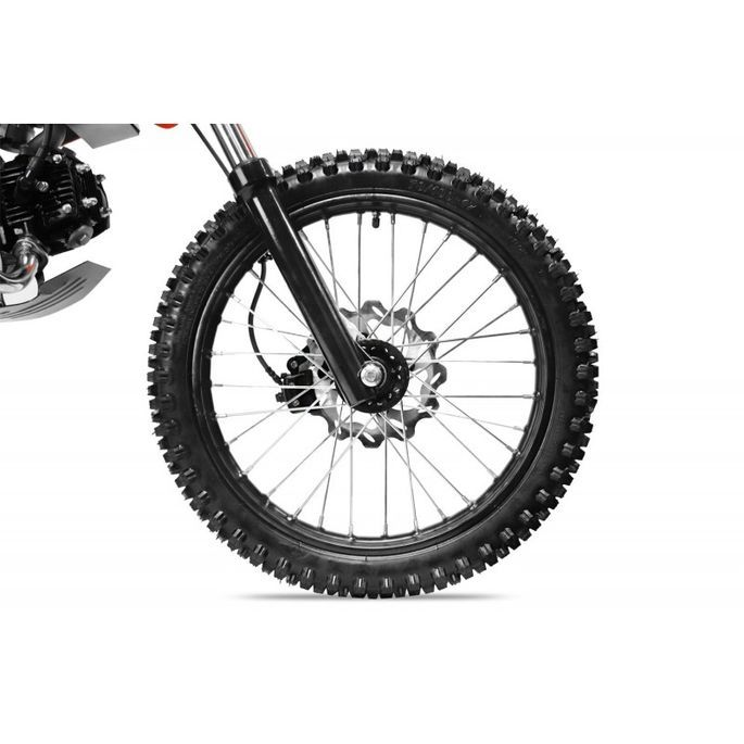 Moto cross 125cc automatique 17/14 vert Sprinter - Photo n°10