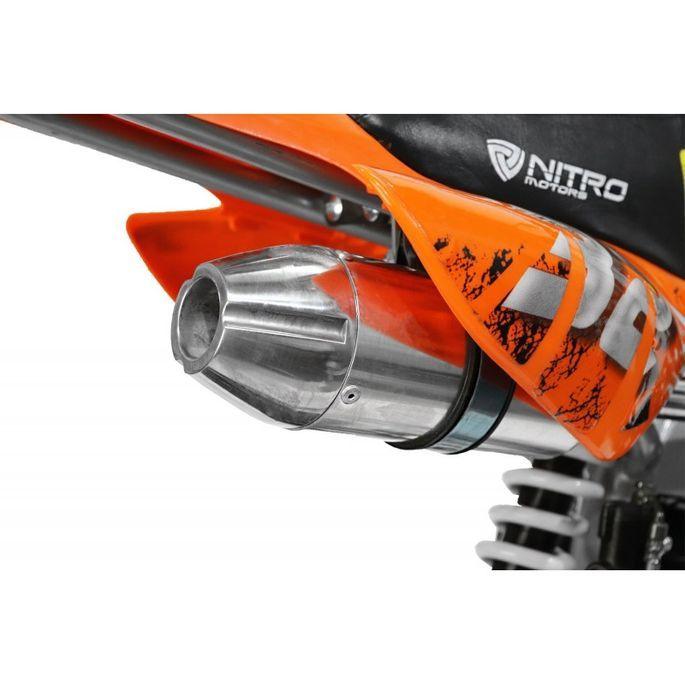 Moto cross 125cc automatique 17/14 vert Sprinter - Photo n°11