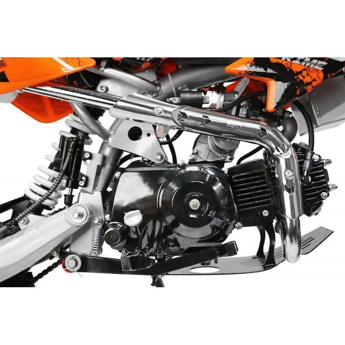 Moto cross 125cc automatique 17/14 vert Sprinter - Photo n°12