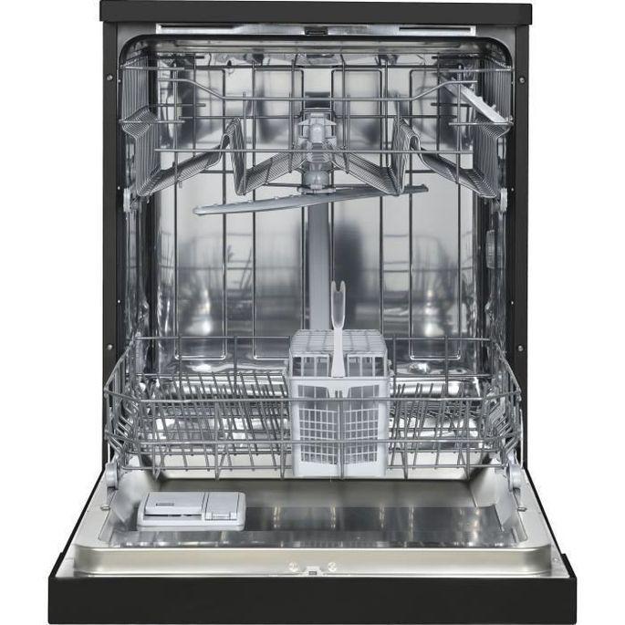 OCEANIC OCEALV1249BDD - Lave vaisselle posable - 12 couverts - 49 dB - A++ - Larg 59,8 cm - Noir - Photo n°2