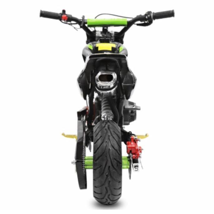 Pocket bike 49cc Sport Hobbit 6,5/6,5 jaune - Photo n°4