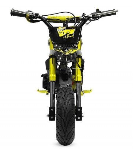 Pocket bike 49cc Sport Hobbit 6,5/6,5 jaune - Photo n°3