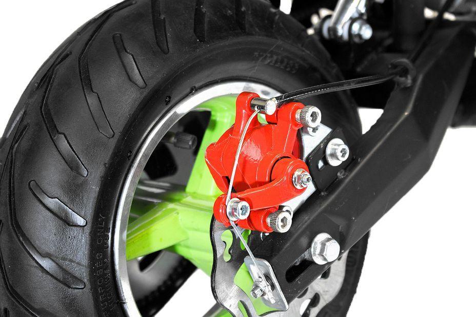 Pocket bike 49cc Sport Hobbit 6,5/6,5 jaune - Photo n°8
