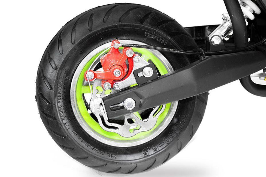 Pocket bike 49cc Sport Hobbit 6,5/6,5 jaune - Photo n°11