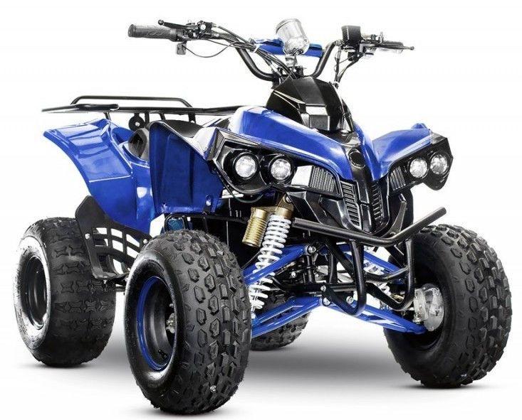 Quad ado électrique 1000W 48V bleu Sprinter 8